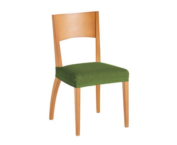Súprava 2 poťahov na stoličku zelená